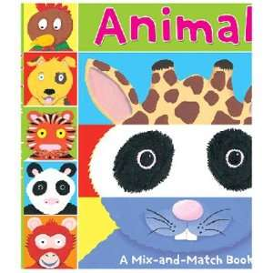 MIX AND MATCH ANIMALS AGES 2 3: Toys & Games