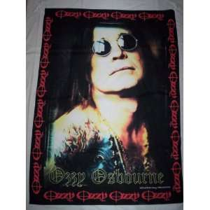 OZZY OSBOURNE 5x3 Feet Cloth Textile Fabric Poster
