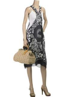 Anna Sui Raffia frame bag   85% Off Now at THE OUTNET