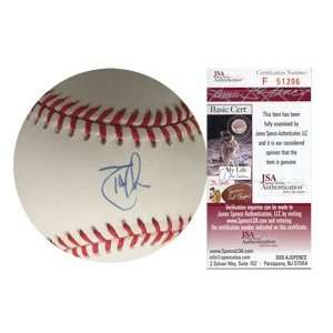 Randy Johnson Autographed Baseball JSA  Sports & Outdoors