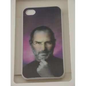 Cool 3D Hologram Steve Jobs / Apple Logo Snap on Back Cover for iPhone