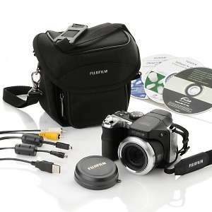 Fuji S8100 10MP 18X Optical Zoom Digital Camera with Carrying Case at