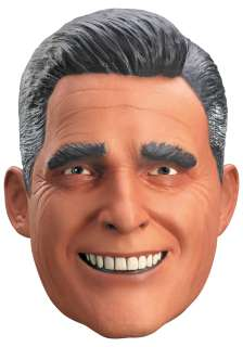 Vinyl Mitt Romney Mask   Political Costume Accessories