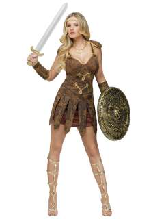 Costumes Roman / Greek Costumes Sexy Roman Gladiator Costume