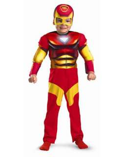 Toddler Muscle Chest Iron Man Costume  TV and Movie Halloween