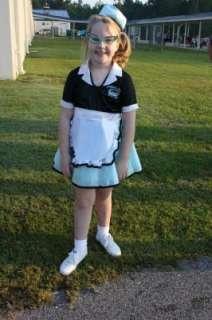 ... Car Hop Girl Child Costume 10042 ...  sc 1 st  PopScreen & Car Hop Girl 50s Costume Fifties Costumes