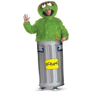 Sesame Street Oscar the Grouch Adult Costume, 60343