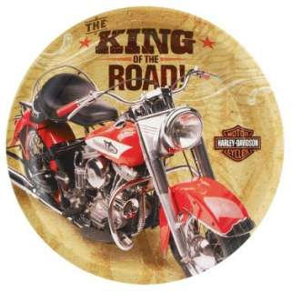 Harley Davidson Dinner Plates (8 count)   Costumes, 66512