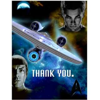 Halloween Costumes Star Trek Thank You Cards (8 count)