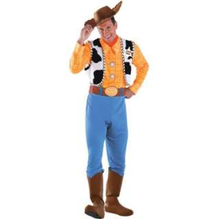 Halloween Costumes Disney Toy Story   Woody Deluxe Adult Costume