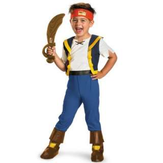 Halloween Costumes Disney Jake And The Neverland Pirates Deluxe Jake