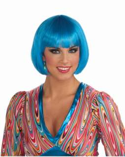 Sassy Turquoise Wig Adult  Wholesale Wigs Women Halloween Costumes