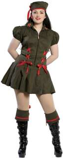 Naughty Soldier Adult Costume  Sexy Army Costume
