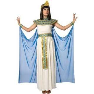 Cleopatra Adult Costume   Includes dress, cape, cuffs, headpiece