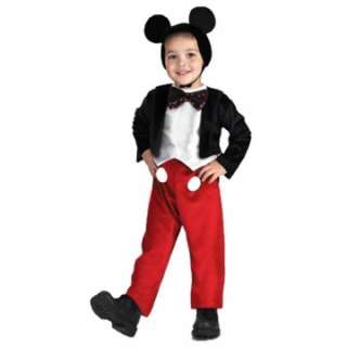 Mickey Mouse Deluxe Child Costume   Includes bodysuit with attached