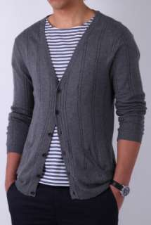Grey Cable Knit Cotton Cardigan by Oliver Spencer   Grey   Buy