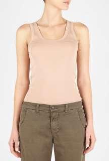 By Malene Birger  Desert Rouge Dawn Jersey Cotton Vest by By Malene