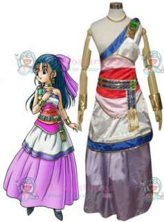 Dragon Warrior V Nera Briscoletti Cosplay Costume