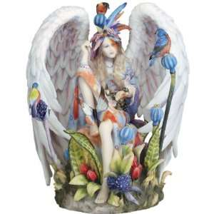 Flower Angel Sculpture Statue Figurine Home & Kitchen