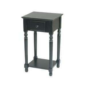 Star Products Telephone Stand   Antique BlackMN04