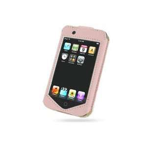 Leather Case   Sleeve Type for Apple iPod Touch (Pink) Cell Phones