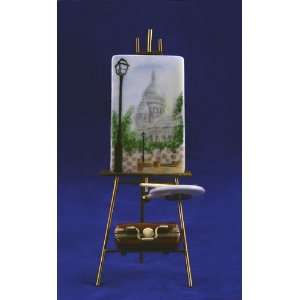 Easel Montmartre Sacre Coeur French Limoges Box Atelier Dart