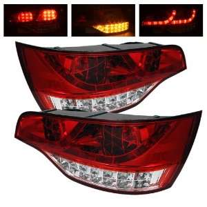 Audi Q7 07 08 09 LED Tail Lights + Hi Power White LED Backup Lights
