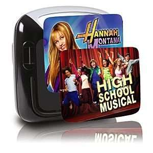 & High School Musical Dual Screen Portable DVD Player Electronics