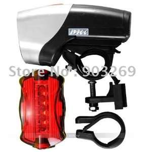 bicycle light 5 leds front bicycle torch + 6 leds rear bike light
