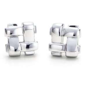 Bling Jewelry Sterling Silver Weave Stud Earrings Jewelry