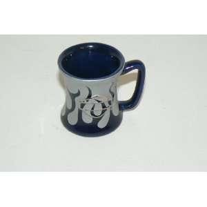 Harley Davidson 2 oz Blue Flame Shot Glass