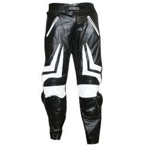 MOTORCYCLE RACING ARMOR SLIDER LEATHER PANT PANTS 38 Automotive