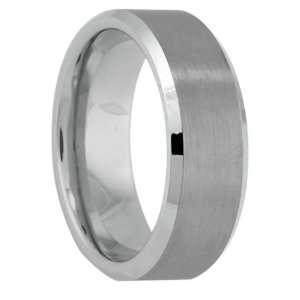 Brushed Tungsten Wedding Band Ring (Size 11) Eternal Bond Jewelry