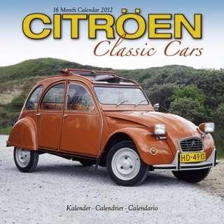 Citroen Classic Cars 2012 Calendar #30434 12