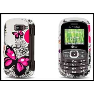 Cover Case Front & Back Butterfly Image Design Cell Phones