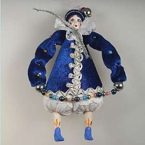 Collectible Doll Clown Christmas