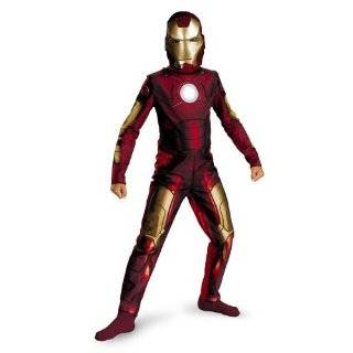 Large (10 12) Iron Man 2 Mark VI Classic Muscle Costume Toys & Games