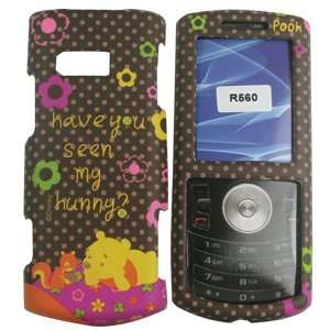 com Samsung Messager II/2 R560 Winnie The Pooh Brown Hard Case/Cover