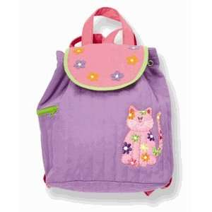 Kids Purple Kitty Cat Quilted Backpack Toys & Games