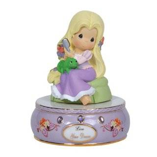 Precious Moments Porcelain / Resin Disney Tangled Musical, 5 Inch
