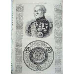 1865 Portrait General Sir George Brown Doncaster Cup
