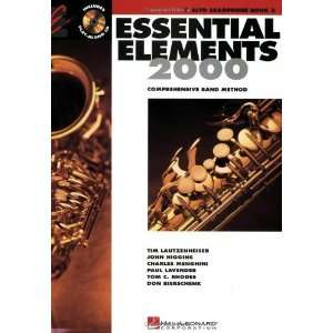 Elements 2000 Book 2 (Eb Alto Saxophone) [Paperback] Various Books