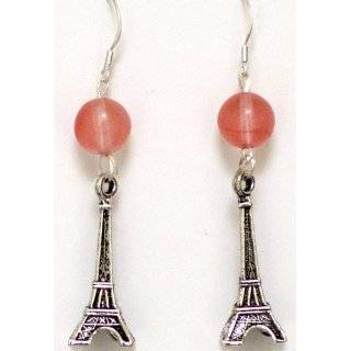 Eiffel Tower Sterling Silver Earrings Paris Jewelry French Gifts for