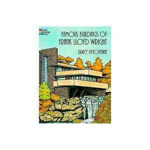 Dover Coloring Book F.l.wright Buildings Arts, Crafts & Sewing