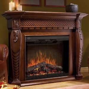 Dimplex Vienna Indoor Electric Fireplace Package