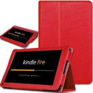 Folio Case Cover for  Kindle Fire 7 Tablet With Stand