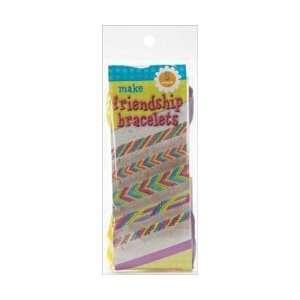 Leisure Arts Make Friendship Bracelets Kit Makes 5; 6 Items/Order