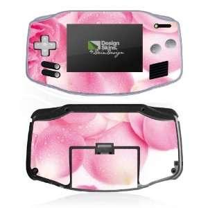 Design Skins for Nintendo Game Boy Advance   Rose Petals