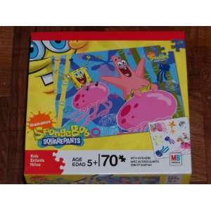 Nickelodeon Spongebob Squarepants 70 Piece Jigsaw Puzzle