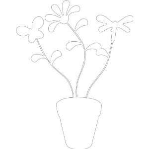 Flower No1 Removable Wall Sticker